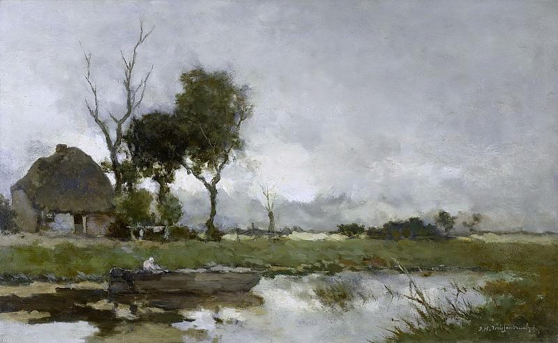 Weissenbruch, Johan Hendrik -- Herfstlandschap, 1870-1903. Rijksmuseum: part 3
