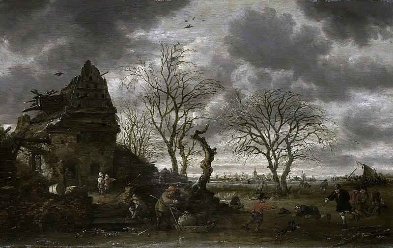 Саломон Ромбоутс -- Зима, 1660-1702. Рейксмузеум: часть 3