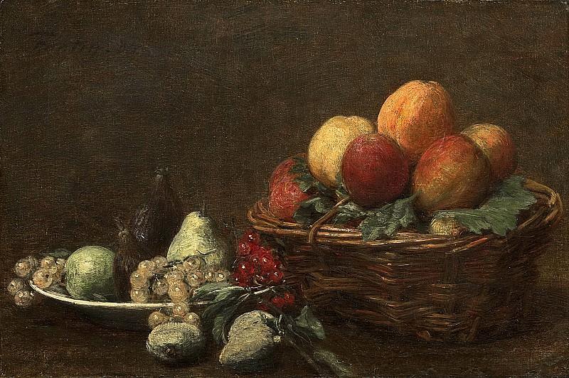 Fantin-Latour, Henri -- Stilleven met fruit, 1880-1890. Rijksmuseum: part 3