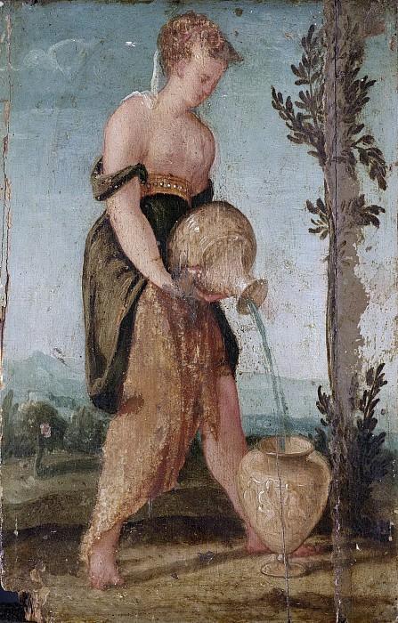 Sustris, Lambert -- Vrouw met waterkruik, 1540-1570. Rijksmuseum: part 3