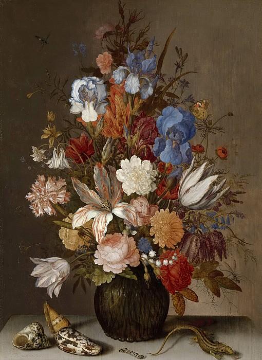 Ast, Balthasar van der -- Stilleven met bloemen., 1625-1630. Rijksmuseum: part 3