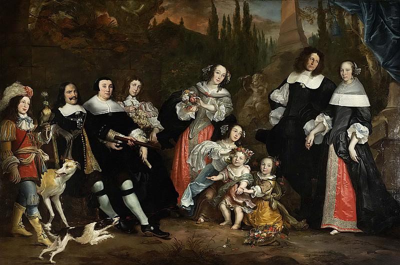 Jacobsz., Juriaen -- Michiel de Ruyter en zijn familie, 1662. Rijksmuseum: part 3