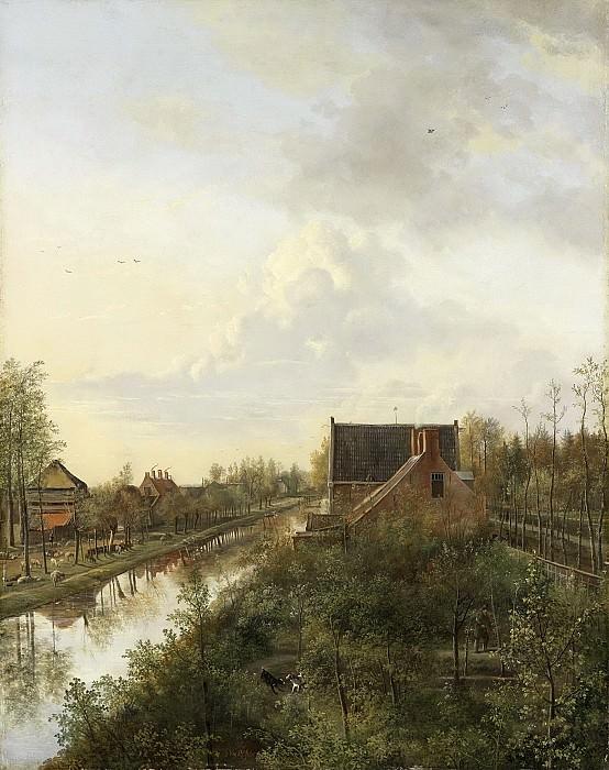 Os, Pieter Gerardus van -- De vaart bij's-Graveland, 1818. Rijksmuseum: part 3