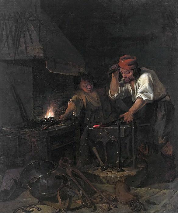 Метсю, Габриель -- Кузнец-оружейник, 1650-1660. Рейксмузеум: часть 3