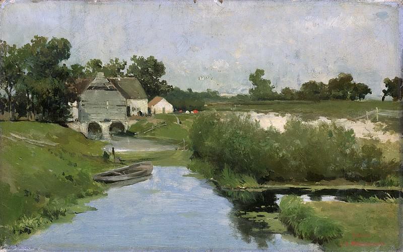 Вейссенбрух, Йохан Хендрик -- Летний день, 1870-1903. Рейксмузеум: часть 3