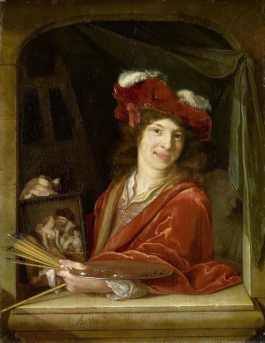 Werff, Adriaen van der -- Een jonge schilder, 1670-1690. Rijksmuseum: part 3