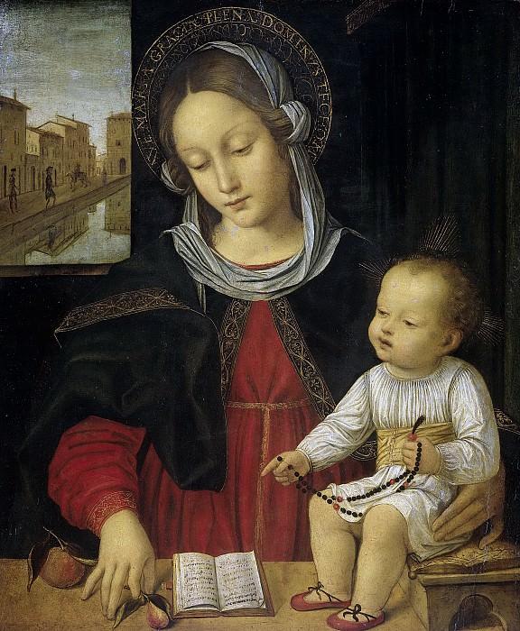 Borgognone -- Madonna met kind., 1500-1523. Rijksmuseum: part 3