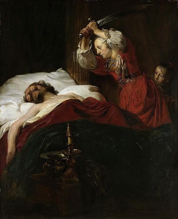 Bray, Jan de -- Judith en Holofernes., 1659. Rijksmuseum: part 3