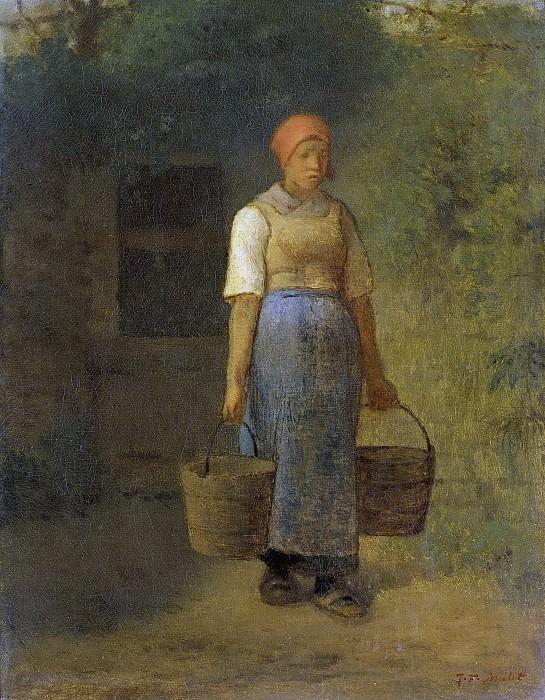 Millet, Jean François -- De waterdraagster, 1840-1875. Rijksmuseum: part 3