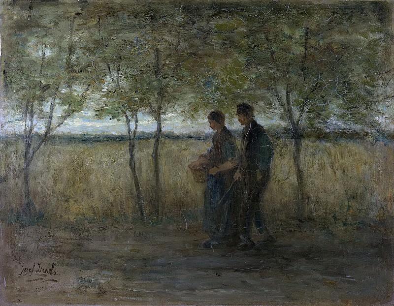 Исраэлс, Йозеф -- Поворот к дому, 1860-1911. Рейксмузеум: часть 3