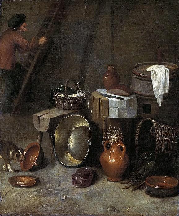 Potuyl, Hendrik -- Stilleven in een stal, 1639-1649. Rijksmuseum: part 3