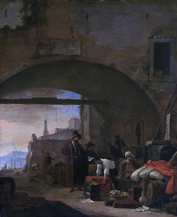 Вейк, Томас -- Левантинский порт, 1640-1677. Рейксмузеум: часть 3