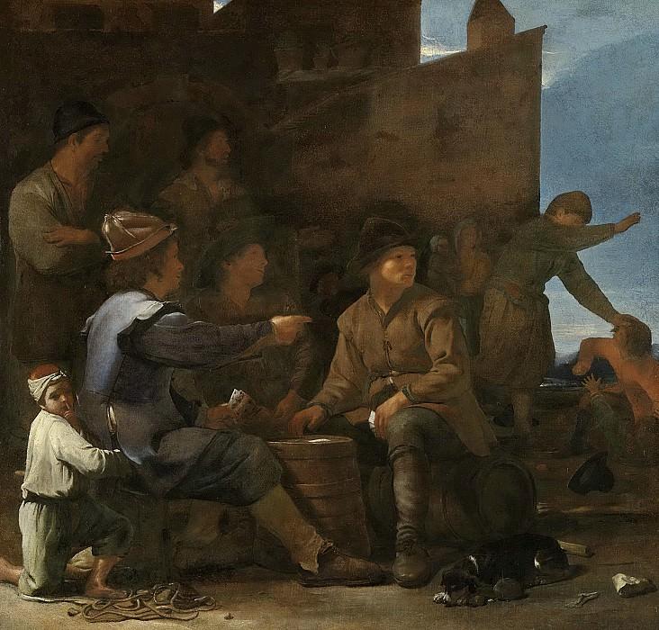 Свертс, Михаель -- Игроки в карты, 1646-1652. Рейксмузеум: часть 3