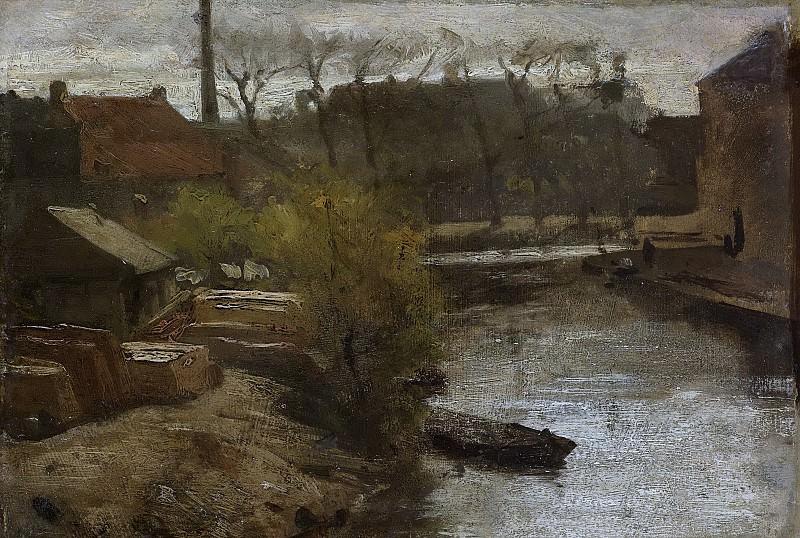 Maris, Matthijs -- De Noord-West-Buitensingel in Den Haag, 1864-1866. Rijksmuseum: part 3