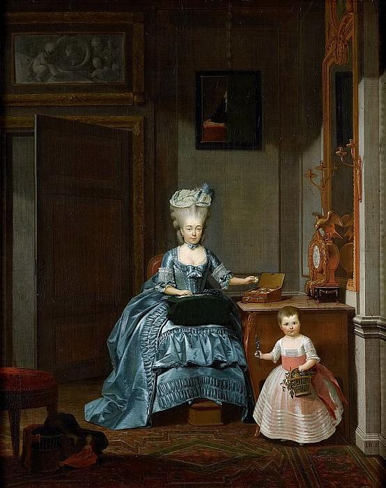 Нуман, Херман -- Сузанна Корнелия Могге (1753-1806), вторая жена Хендрика Мейльмана (1743-1812), 1776. Рейксмузеум: часть 3