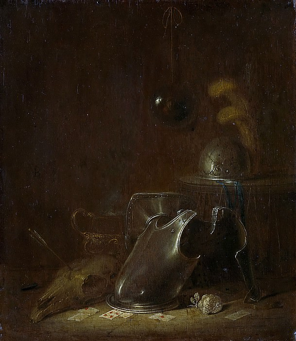 Buesem, Jan Jansz. -- Stilleven met krijgstuig, 1625-1649. Rijksmuseum: part 3