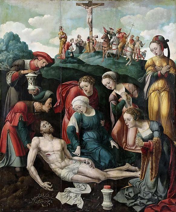 Buys, Cornelis Cornelisz. (II) -- De bewening van Christus, 1530-1540. Rijksmuseum: part 3