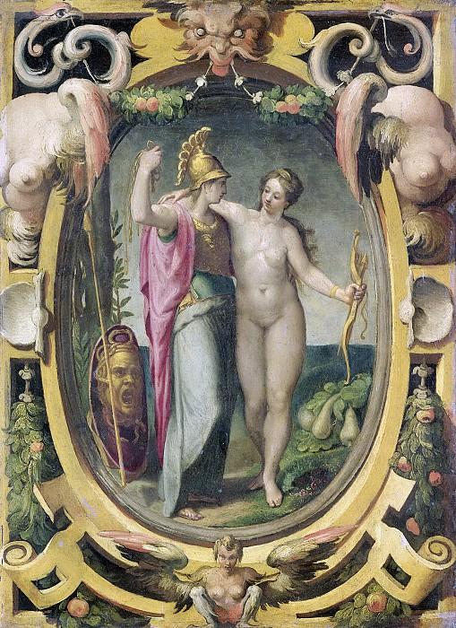 Тибальди, Пеллегрино -- Венера и Минерва, 1590-1620. Рейксмузеум: часть 3