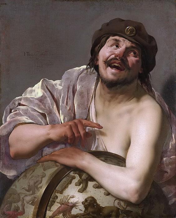 Тербрюгген, Хендрик - Демокрит, 1628. Рейксмузеум: часть 3