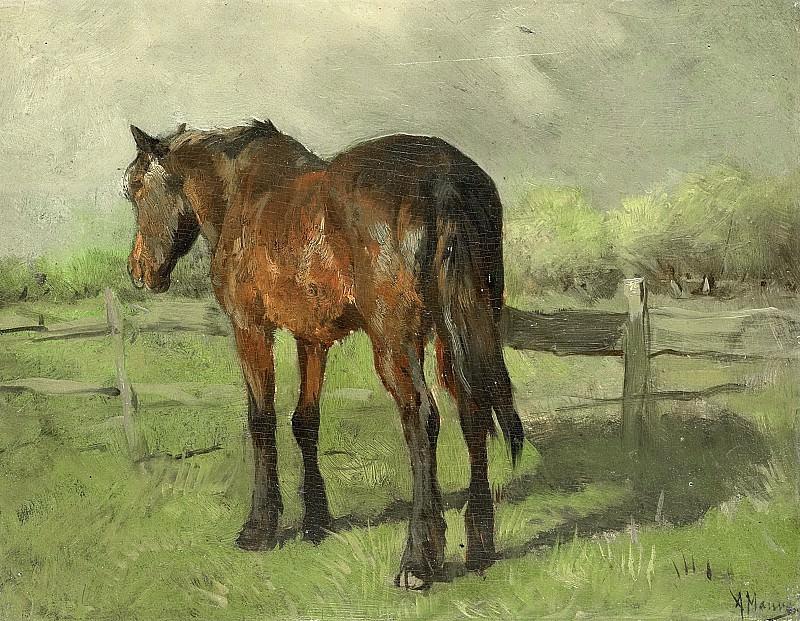 Mauve, Anton -- Paard, 1860-1888. Rijksmuseum: part 3