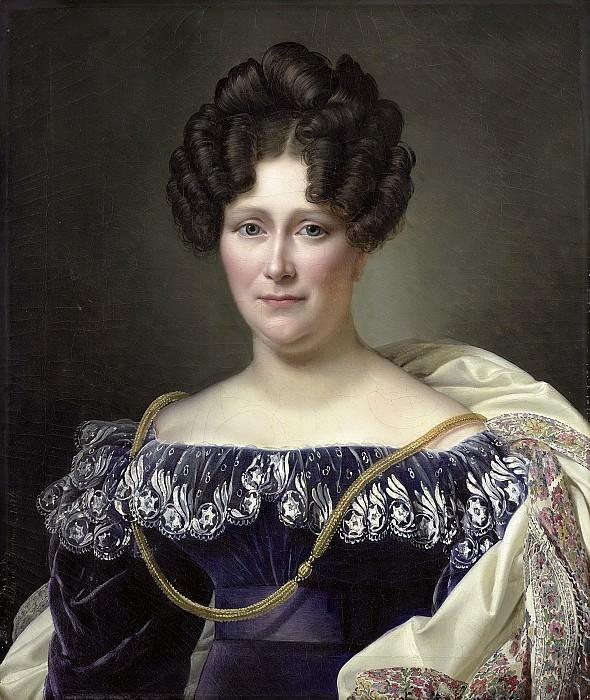 Дюбуа Драоне, Александр Жан -- Йоханна Хенриетта Энгелен (1789-1878), вторая жена Даниеля Франсиса Схаса, 1826. Рейксмузеум: часть 3