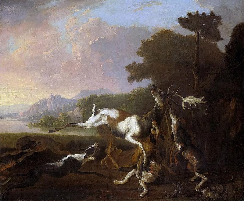 Hondius, Abraham Daniëlsz. -- De hertenjacht, 1650-1695. Rijksmuseum: part 3