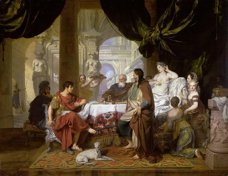 Lairesse, Gerard de -- Het feestmaal van Cleopatra, 1675-1680. Rijksmuseum: part 3