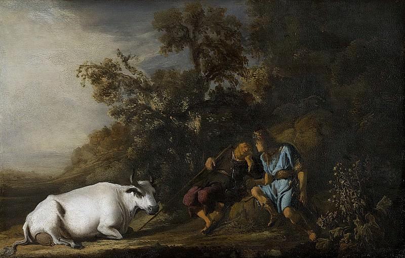 Flinck, Govert -- Mercurius, Argus en Io, 1635-1645. Rijksmuseum: part 3