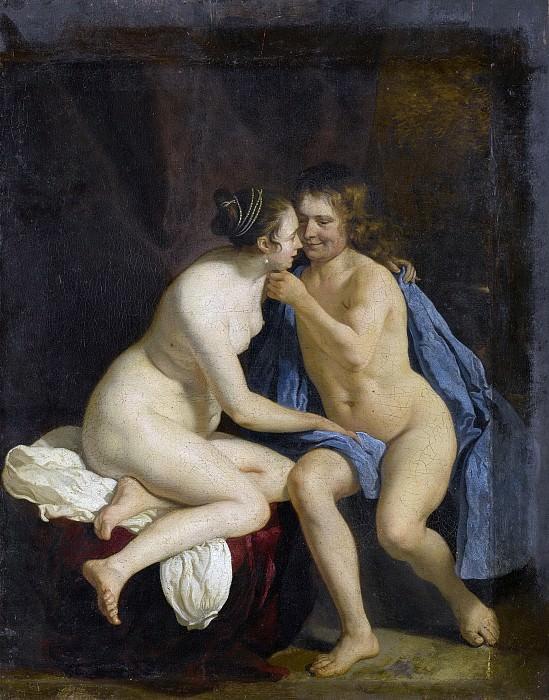 Якоб ван Лоо -- Любовники, 1650-60. Рейксмузеум: часть 3