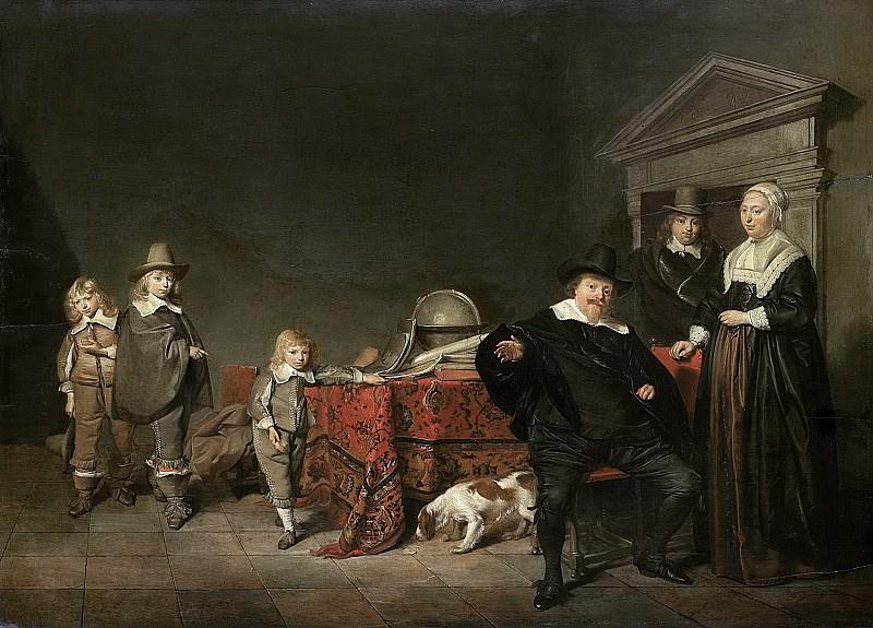 Codde, Pieter -- Familiegroep, 1642. Rijksmuseum: part 3