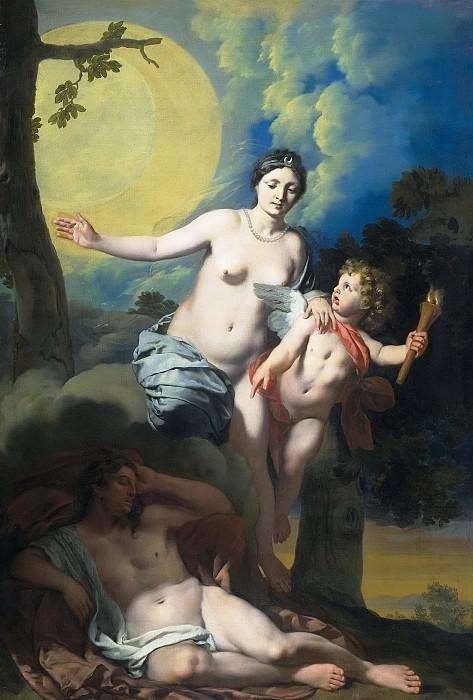 Герард де Лайрессе -- Селена и Эндимион, 1678. Рейксмузеум: часть 3