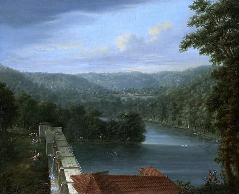 Йохан Кристиан Воллердт и Жан Батист Ванмур -- Водохранилища, так называемые водоотводы, в лесу Бельградо, 1744-1763. Рейксмузеум: часть 3