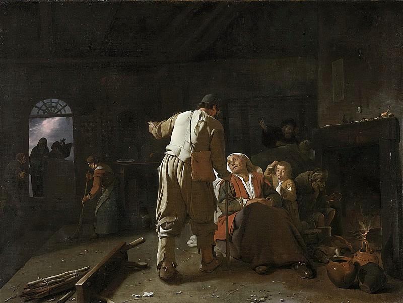 Sweerts, Michael -- De zieken bezoeken, 1646-1652. Rijksmuseum: part 3