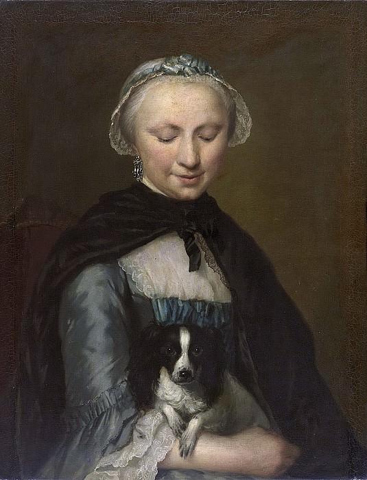 Mijn, George van der -- Antoinette Metayer (1732-88). Oudste zuster van Louis Metayer, 1759. Rijksmuseum: part 3