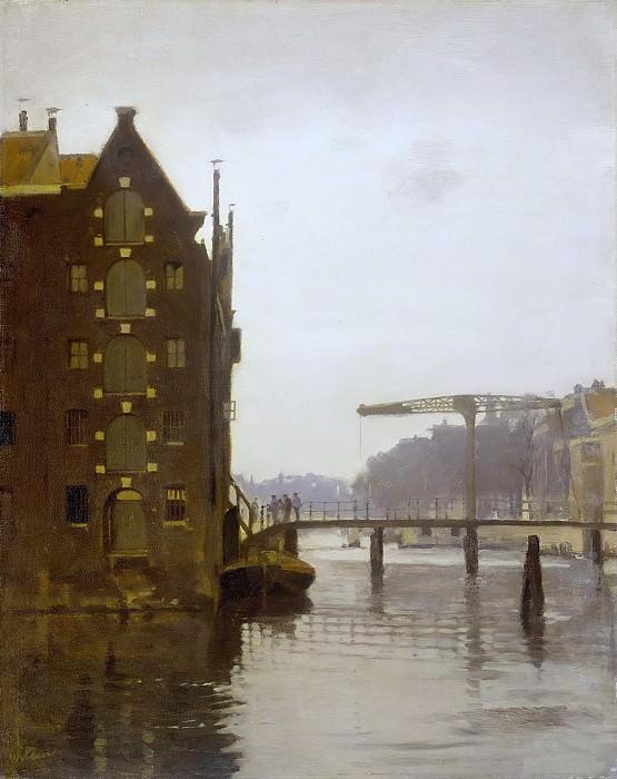 Виллем Витсен -- Склады у амстердамского канала вблизи Эйленбурга, 1885-1922. Рейксмузеум: часть 3