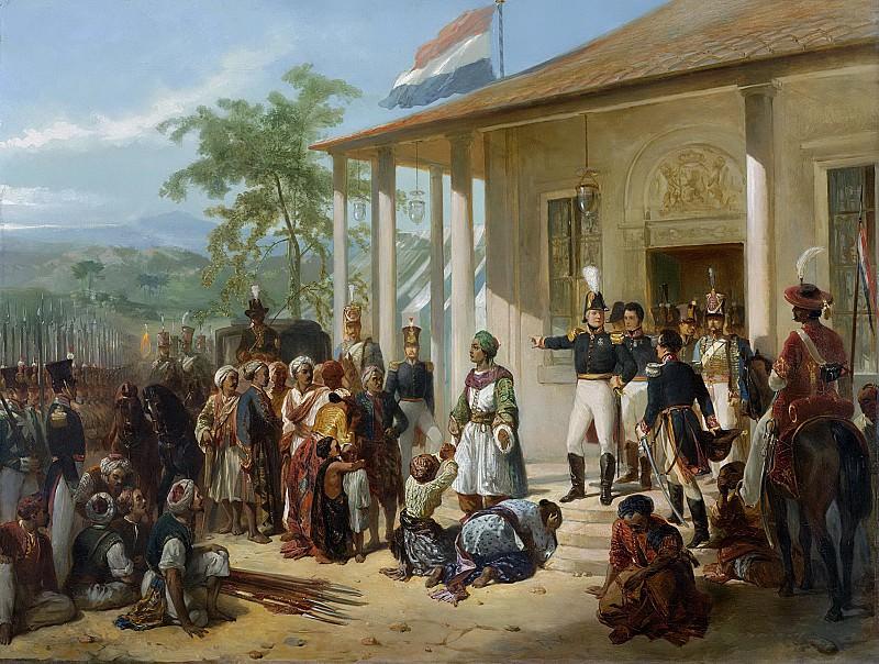 Николас Пинеман -- Диепо Негоро, выполняющий приказ генерал-лейтенанта Хендрика Меркуса, барона де Кока, 1830-1835. Рейксмузеум: часть 3