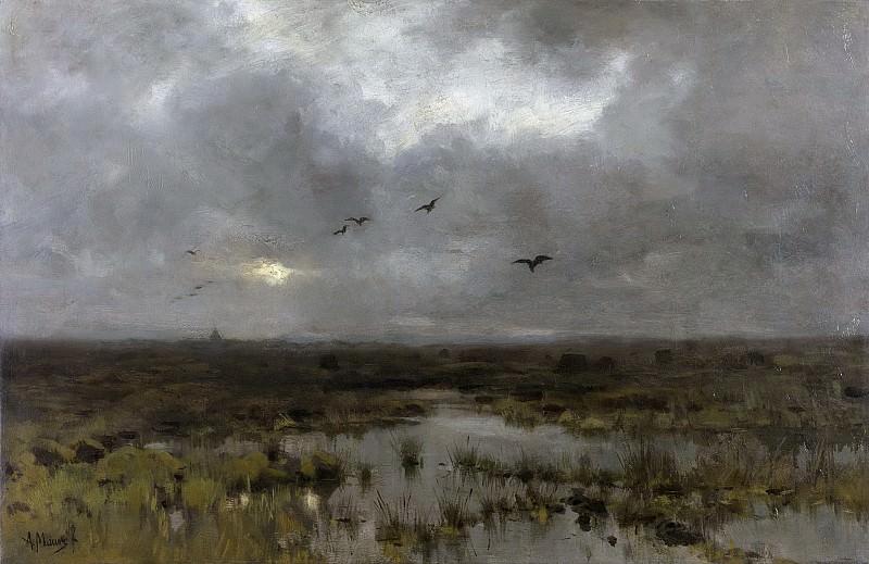 Mauve, Anton -- Het moeras, 1885-1888. Rijksmuseum: part 3