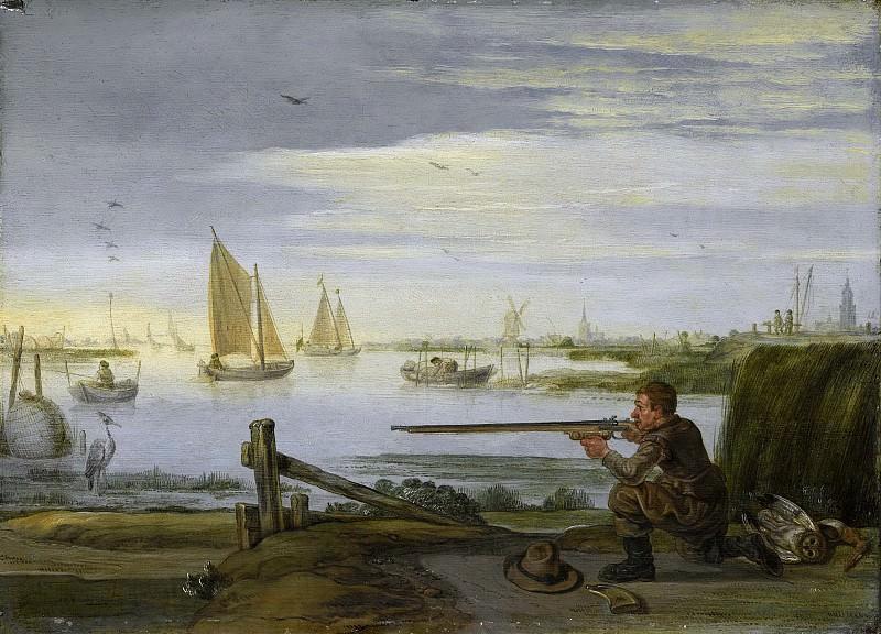 Арент Арентс -- Охотник на птиц, 1626-1631. Рейксмузеум: часть 3