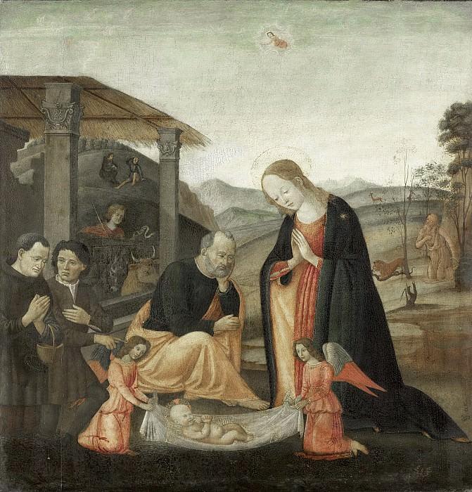 Sellaio, Jacopo del -- De aanbidding van het kind, 1485-1520. Rijksmuseum: part 3