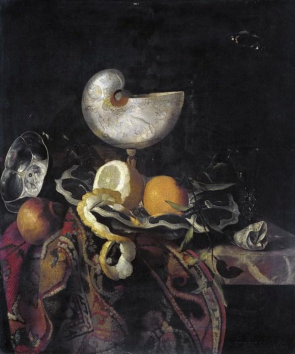 Sant-Acker, F. -- Stilleven met Nautilusbeker, 1648-1688. Rijksmuseum: part 3