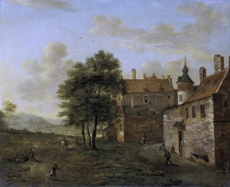 Ян ван дер Хейден -- Деревенский дом, 1660-1712. Рейксмузеум: часть 3