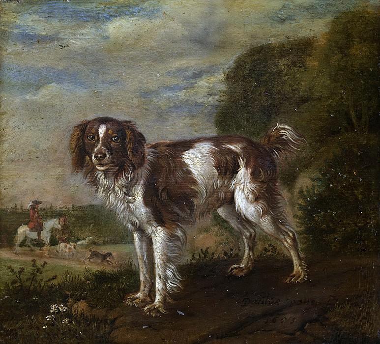 Пауль Поттер -- Сторожевой пес, 1653. Рейксмузеум: часть 3