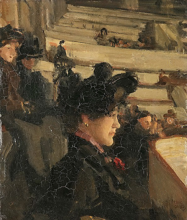 Israels, Isaac -- In het theater, 1890-1922. Rijksmuseum: part 3