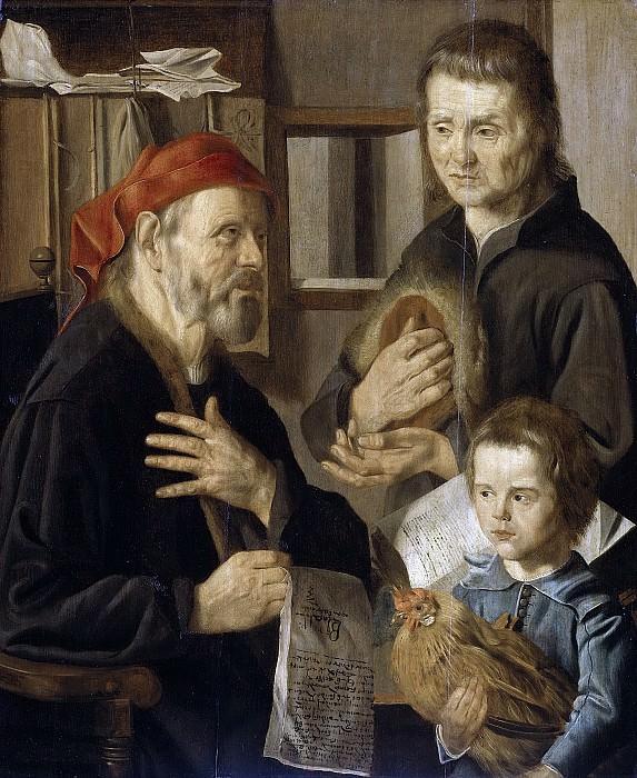 Stap, Jan Woutersz. -- Het kantoor van de rentmeester, 1636. Rijksmuseum: part 3