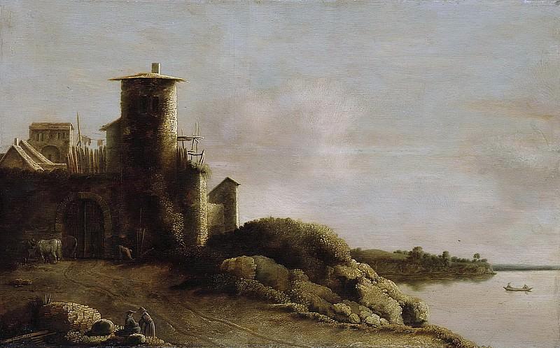 Клод де Йонг -- Пейзаж, 1633. Рейксмузеум: часть 3