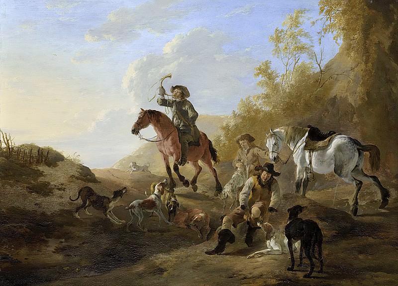 Стооп, Дирк -- Отдыхающие охотники, 1640-1660. Рейксмузеум: часть 3