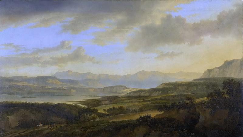 Ян Хакарт -- Цюрихское озеро, 1656-1666. Рейксмузеум: часть 3