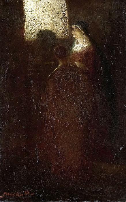 Monticelli, Adolphe Joseph Thomas -- Aan het altaar, 1870-1886. Rijksmuseum: part 3
