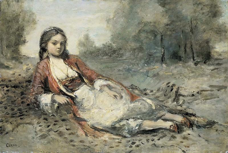 Corot, Camille -- Algérienne, 1871-1873. Rijksmuseum: part 3