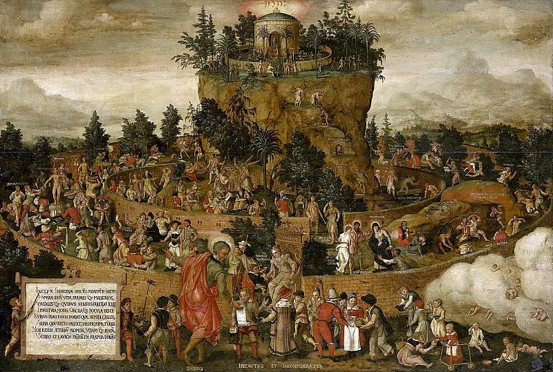 Unknown artist -- Tabula Cebetis, 1573. Rijksmuseum: part 3